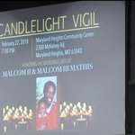 Vigil for slain father and son in MarylandHeights