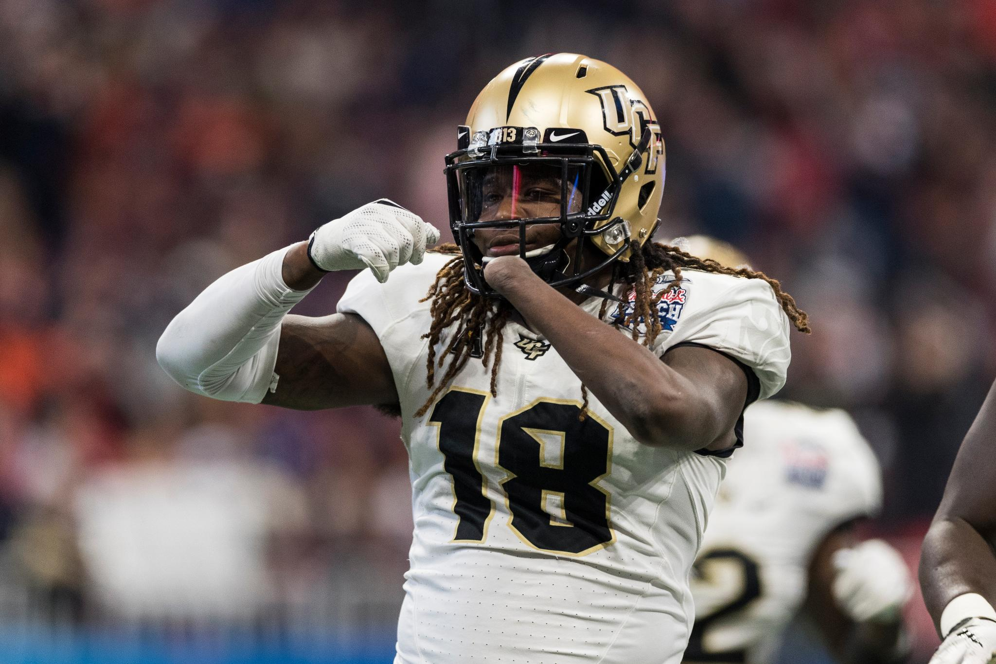 UCF's Shaquem Griffin wins inaugural Jason Witten Collegiate Man Of The Year Award.   https://t.co/lzeLMccmSw https://t.co/uSnzSQKNZB