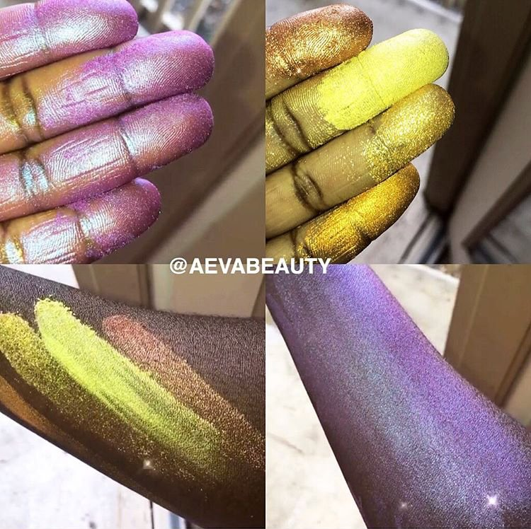 DO YALL SEE THAT PURPLE HIGHLIGHTER??? IG: @aevabeauty https://t.co/XKTzo3n05K