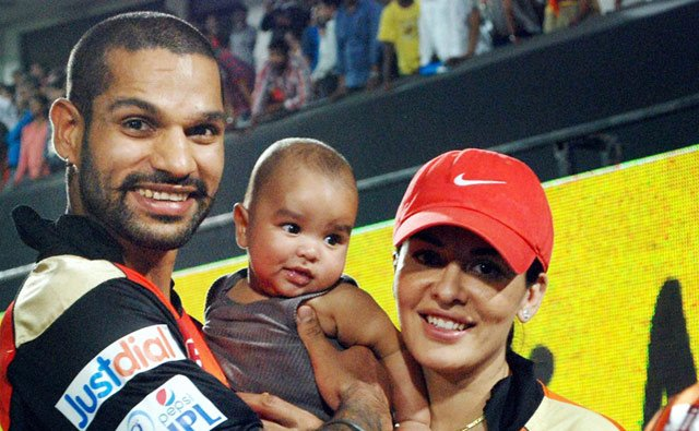 "test Twitter Media - ""He's a responsible guy who knows the art of balancing. I'm so happy to be his wife. His problem-solving abilities amaze me the most. When he's not playing, he is a domesticated man who loves helping his wife & kids in their tasks."" #AyeshaDhawan  #ShaadiCeleb #shikhardhawan https://t.co/heCxLbaz4F"