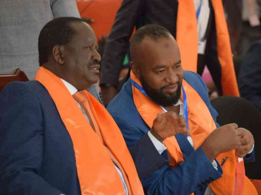 Nasa troubles a case of 'normal sibling rivalry', says Raila