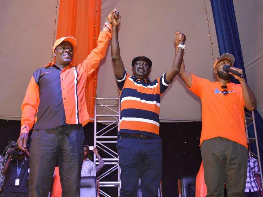Raila replaces ex-Secretary General Ababu Namwamba with Edwin Sifuna