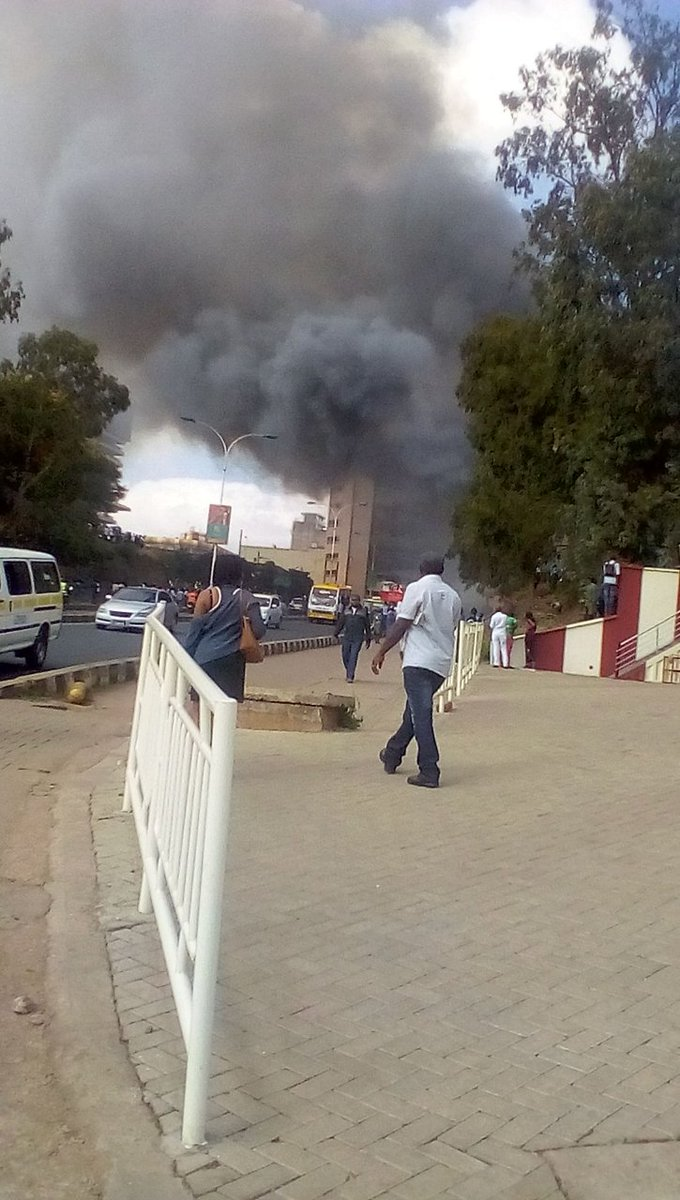 Police officers left homeless after fire razes 54 houses at Central Police station, Nairobi