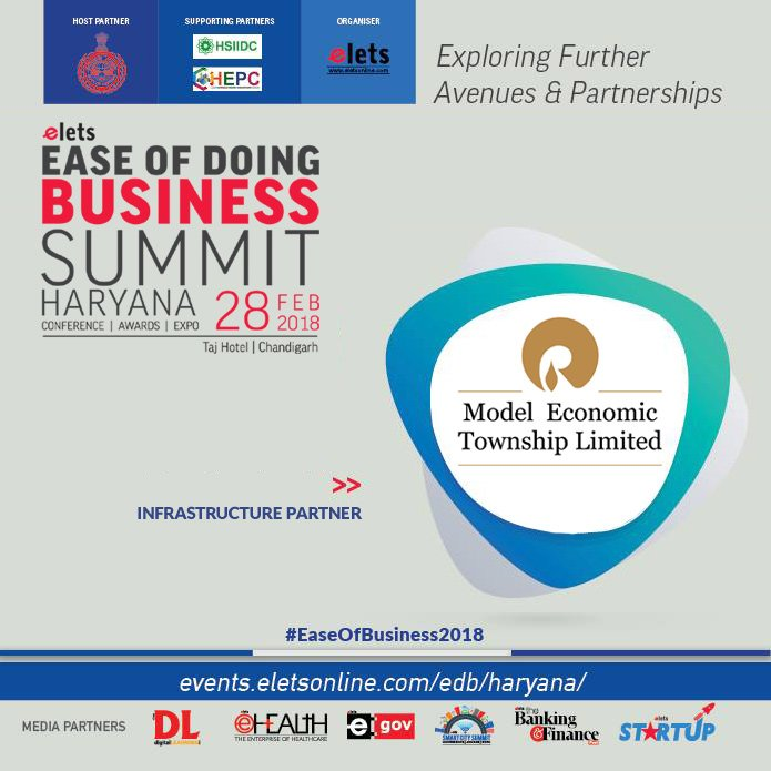 test Twitter Media - Elets Ease of Doing Business Summit - Haryana welcomes @MET_Jhajjar as Infrastructure Partner  https://t.co/AFZVv0di9W #EaseOfBusiness2018  @cmohry  @Industrieshry @DIPPGOI https://t.co/49XtgF3R1Q