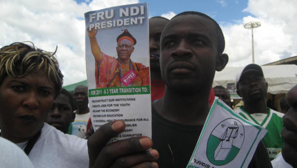 Ni John Fru Ndi ne sera pas candidat à la prochaine présidentielle