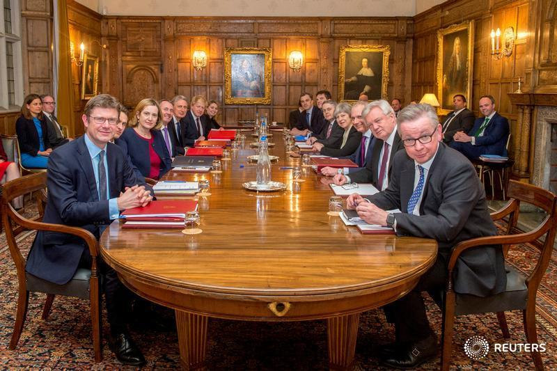 After war cabinet, May to set out 'way forward' on Brexit