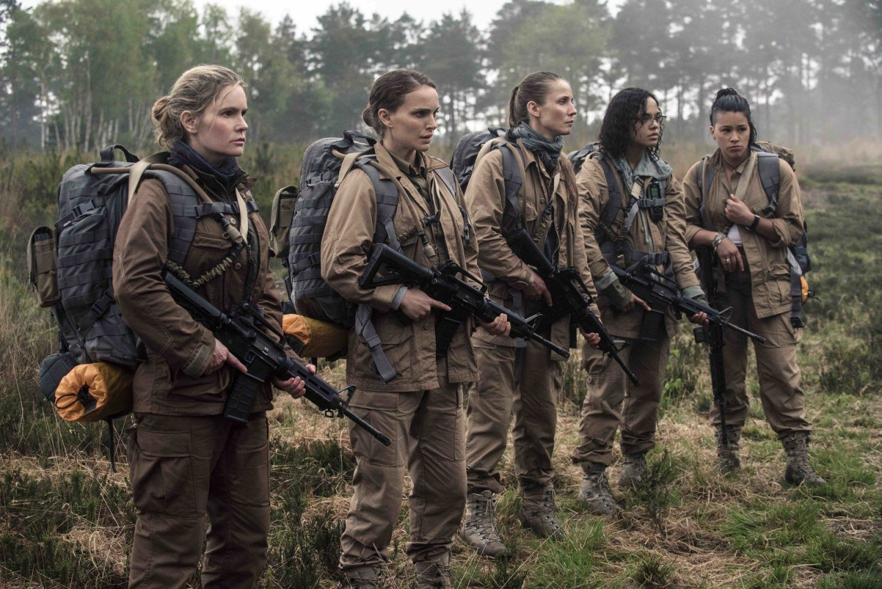 The cast of #Annihilation explains why the movie feels like a sci-fi paradigm shift: https://t.co/D0ZV4GyDhk https://t.co/q75aMl7apv