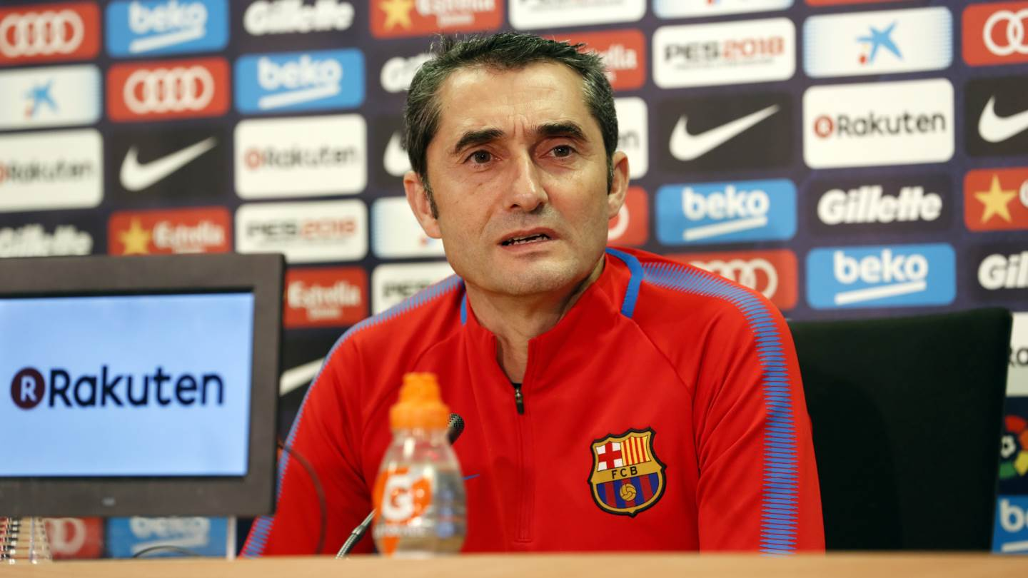 [�� LIVE] Follow Ernesto Valverde in his press conference ahead of #BarçaGirona ��  https://t.co/6DZ4E9MRFx https://t.co/8k3r2nc11R