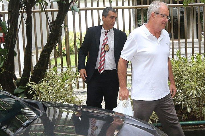 @BroadcastImagem: Plínio José Freitas Travassos Martins (d), preso no Rio em desdobramento da Lava Jato. Wilton Jr/Estadão