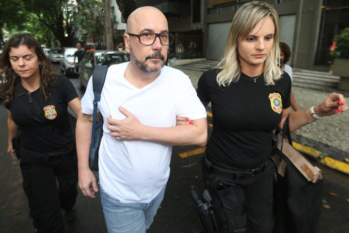 @BroadcastImagem: Em desdobramento da Lava Jato, PF prende presidente da Fecomércio do Rio, Orlando Diniz. Wilton Jr/Estadão