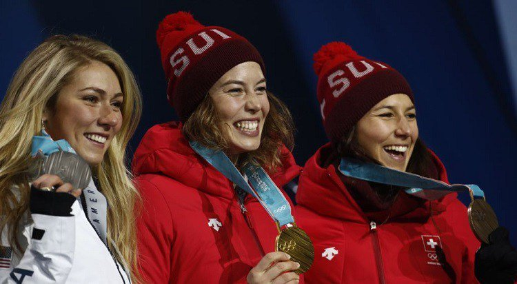 test Twitter Media - Pyeongchang: Suiza Gisin gana combinado alpino, Shiffrin obtieneplata https://t.co/59H9zdR7OS https://t.co/7YUchfMwmA