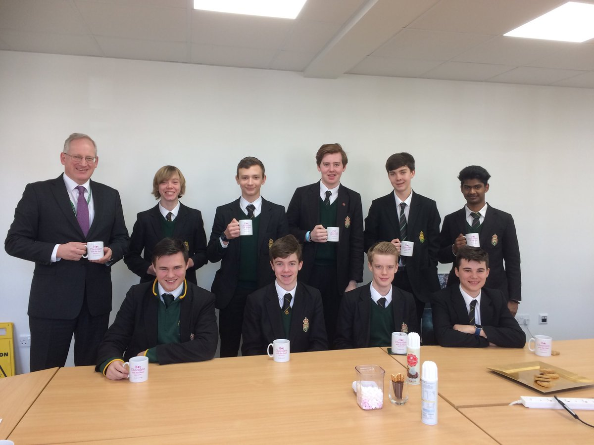 test Twitter Media - Another group of wonderfully focused and hard working gentlemen being congratulated for their positive attitude over hot chocolate with the headteacher today for #HotChocFri @TWBS https://t.co/y0dnXBkWah
