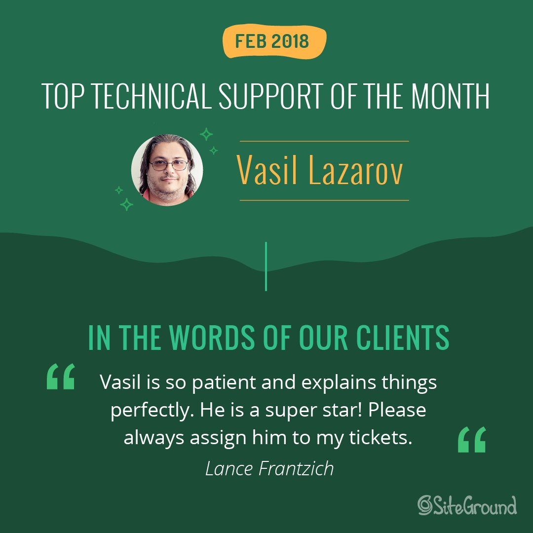 test Twitter Media - It's not surprising that Vasil received a perfect 100% #customersatisfaction for his work, because helping clients is the most rewarding part of his job. Learn more about our February #toptech in our interview: https://t.co/MRdsGVWXab #customerservice https://t.co/9EUYbpWsgj