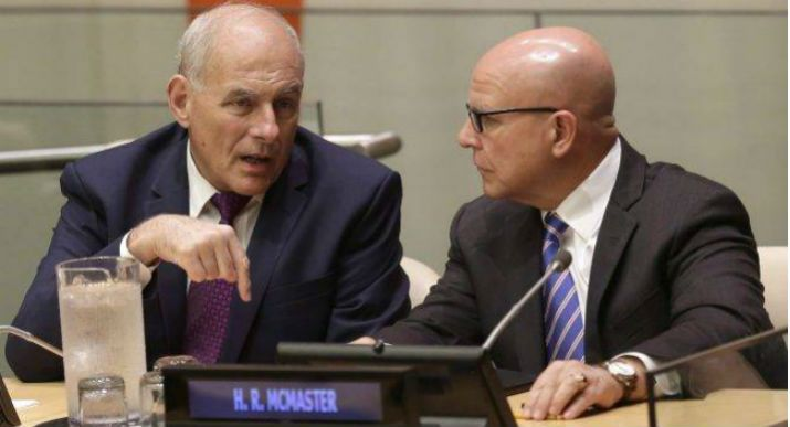 As the Trump White House Turns: Kelly and McMaster may soon be gone
