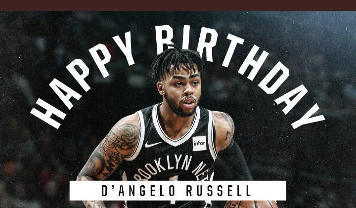 Hoy hace los años uno de los jugadores con más flow de toda la Happy Birthday D\Angelo Russell
