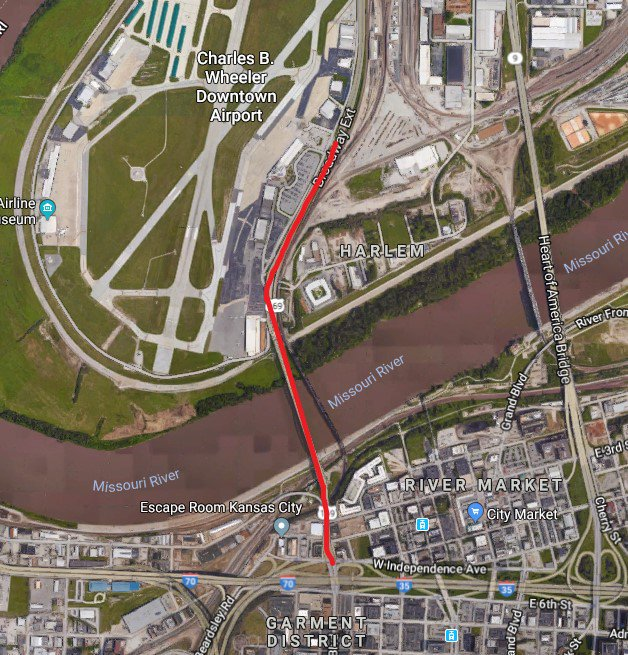test Twitter Media - Notice to Downtown KC Commuters: On March 1st from 9:30a-3p, one lane of SB Route 169 (Buck O'Neil/Broadway Bridge) between 5th Street and Richards Road exit will be closed for bridge inspection operations. Work was rescheduled from 2/22 due to weather. https://t.co/OLs2SyxsrA