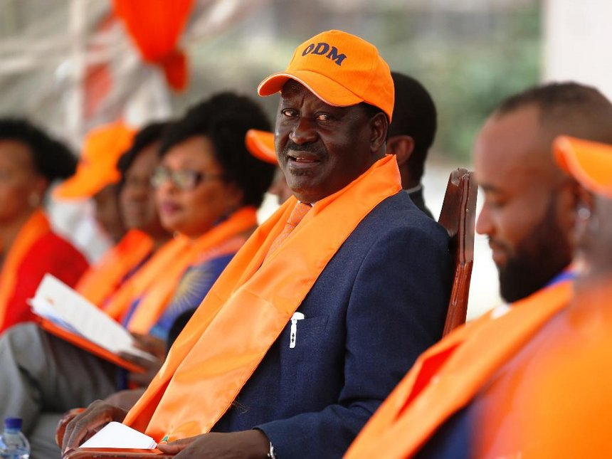 [Statement] End selfishness and start working Raila tells ODM