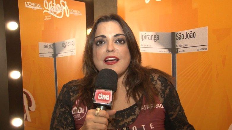 Carnaval. Foto do site da Caras Brasil que mostra .@fareipert detona a atriz Cléo Pires ao falar sobre os destaque do Carnaval. Assista!
