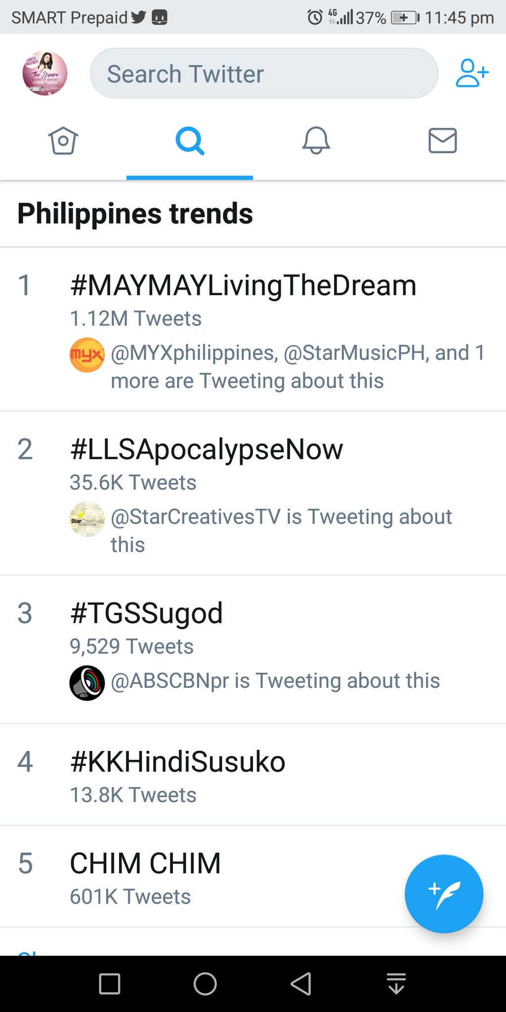 One million! Just like the old times. So blessed!!!  #MAYMAYLivingTheDream https://t.co/XgiuqLJXiq