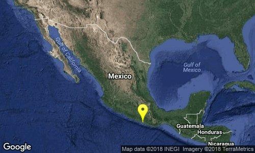 test Twitter Media - SISMO Magnitud 4.0 Loc  29 km al SUROESTE de OMETEPEC, GRO 23/02/18 14:39:45 Lat 16.44 Lon -98.51 Pf 6 km https://t.co/fiR90CIMD3