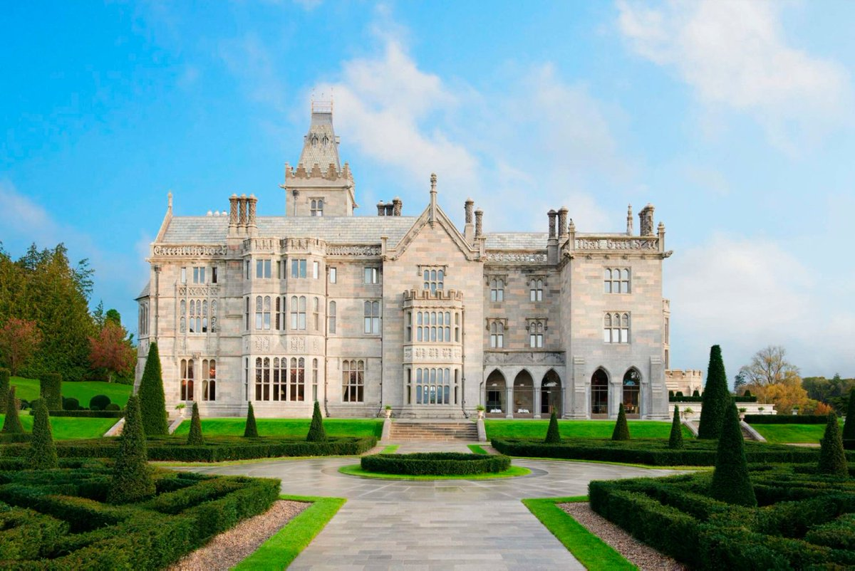 'Time travel fantasies' - Adare Manor named one of world's hottest hotels