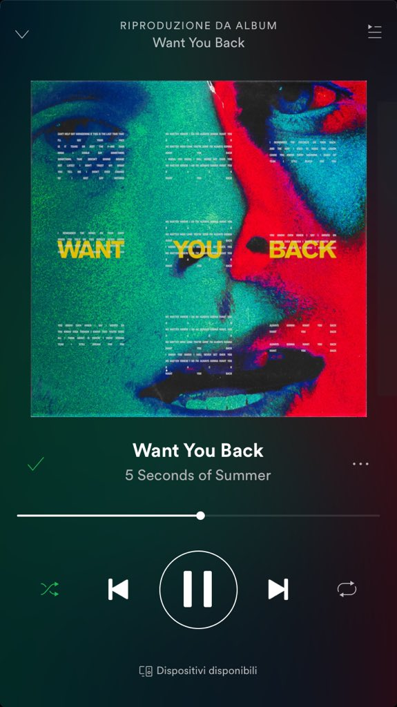 #WantYouBack