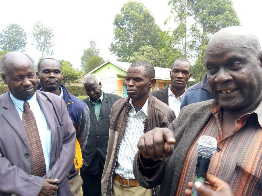 Nandi elders want Karoney to pull down fence in land row with ex-MCA's family