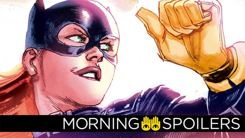 Morning Spoilers: More Updates from what could've been in Joss Whedon's Batgirl movie: https://t.co/NikAVdx14I https://t.co/GLuHc3u8Wz