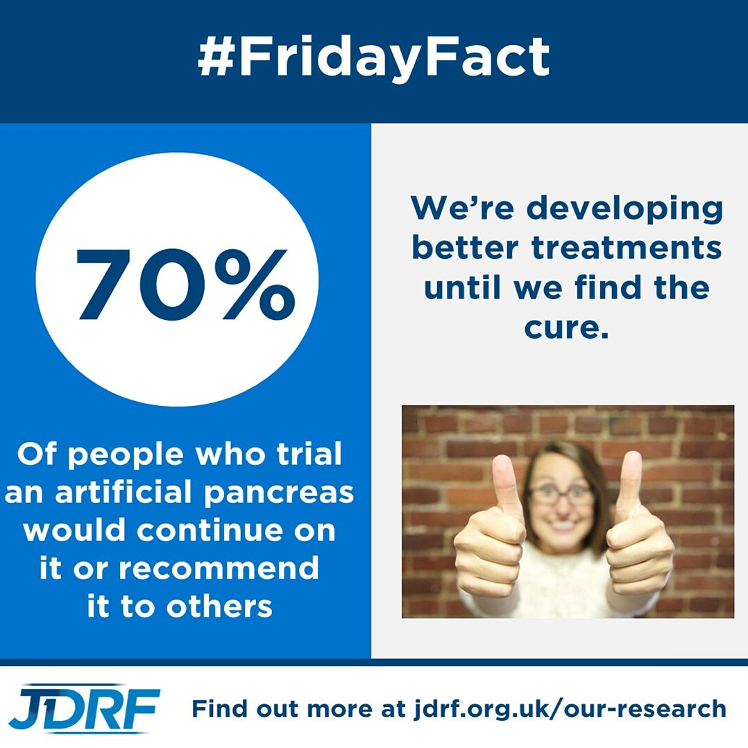 test Twitter Media - The artificial pancreas is just one of the many treatments we are developing as we search for the cure for type 1 #diabetes. #FridayFact https://t.co/S1MxJHxlBJ https://t.co/2JZLQnnO3Y