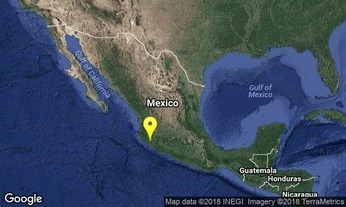 test Twitter Media - SISMO Magnitud 4.3 Loc  38 km al NOROESTE de COQUIMATLAN, COL 23/02/18 12:27:00 Lat 19.40 Lon -104.10 Pf 28 km https://t.co/nx69zA3GVj
