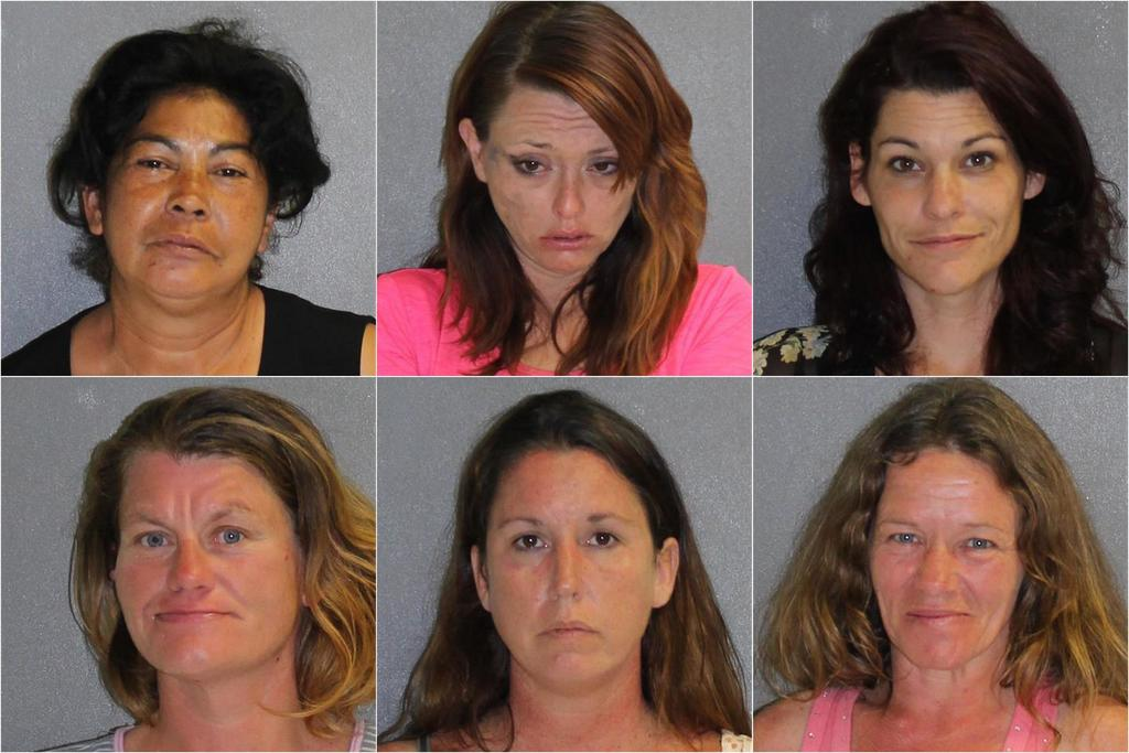 6 women snagged in Daytona Beach prostitution sting