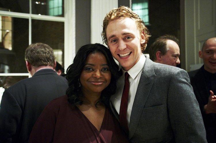 RT @HiddleGoddesses: Tom Hiddleston and Octavia Spencer. #BAFTA Nominees Party 2012. Via Twitter. https://t.co/9fkz3L4O7e