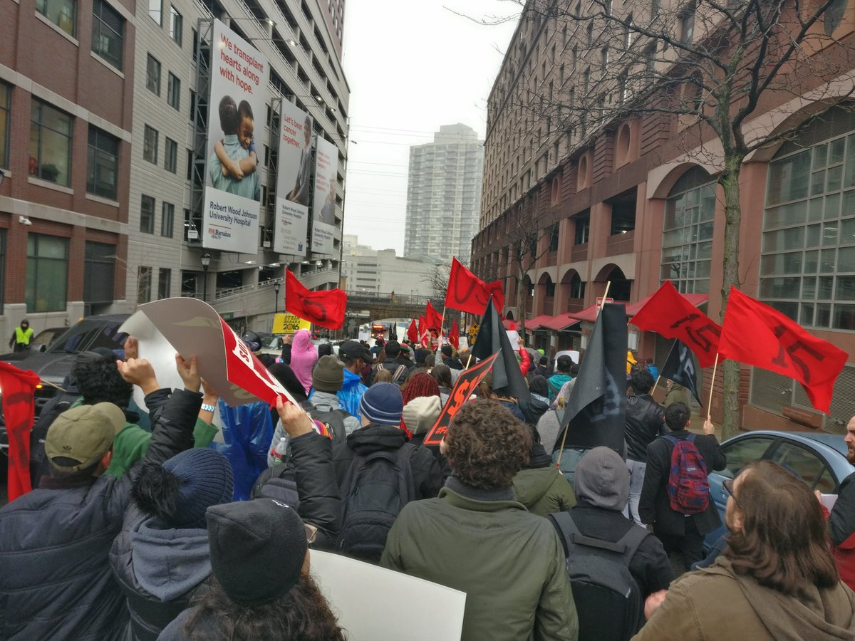 RT @CentralNJDSA: Direct action gets the goods. $15 for Rutgers workers TODAY! @RutgersUSAS https://t.co/BSVLyqMFrs