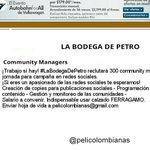 RT : ¡Trabajo sí hay! En #LaBodega...