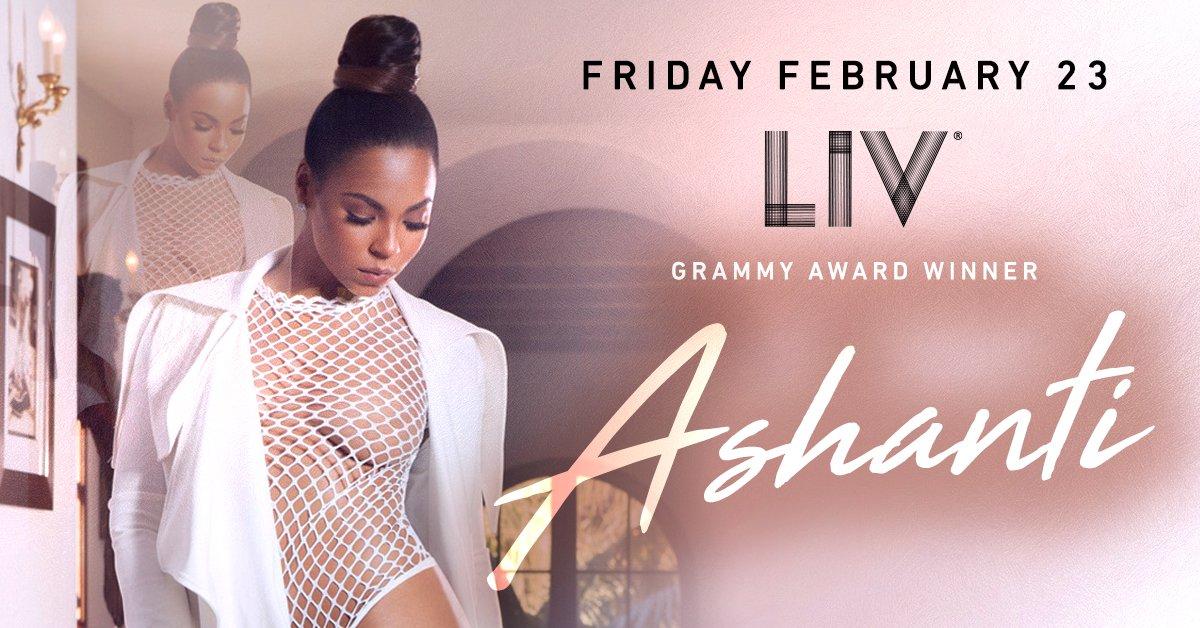 RT @LIVmiami: Friday Night Lights with @ashanti TONIGHT #onlyatLIV! Tickets at https://t.co/2gI0nFs4oC. https://t.co/rbrVKQuvrP