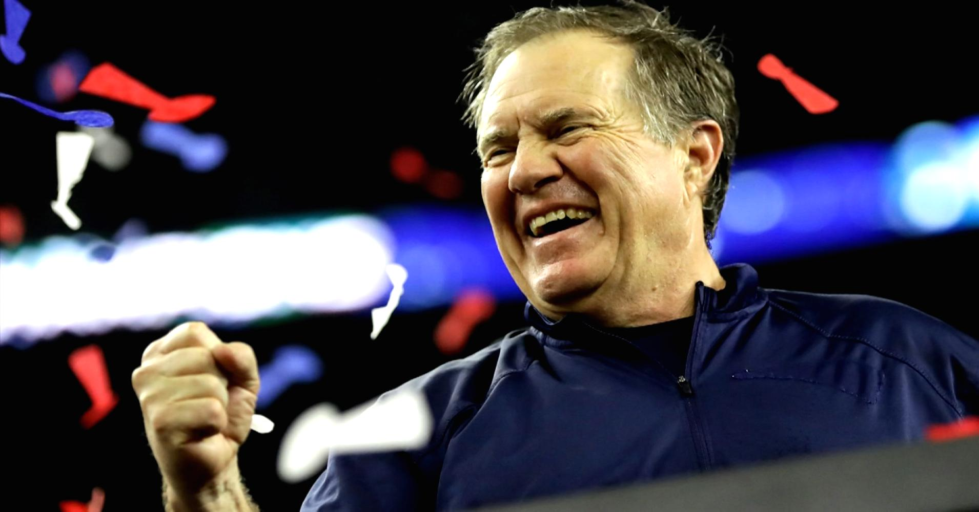 Legendary coach Bill Belichick's shares his top 5 tips on #success and winning: https://t.co/dPnBmuLYXx https://t.co/GUvjqqB6R8