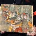 Stolen Degas painting worth nearly $1M found on Paris bus