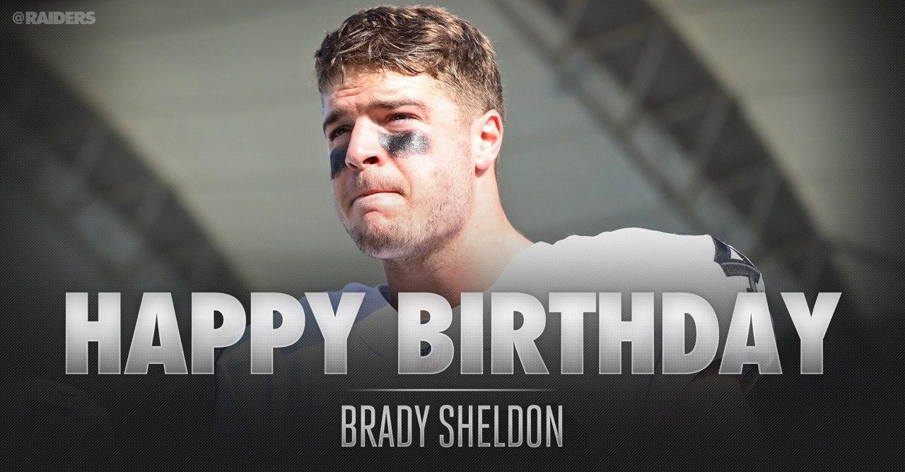 Happy birthday to LB Brady Sheldon! https://t.co/386l0zdjkY