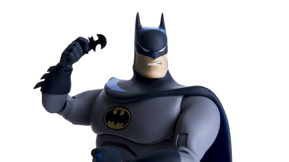 This new #Batman The Animated Series figure from @MondoNews is like a cartoon come to life: https://t.co/1Sggm8a9N0 https://t.co/5OCigjDllH