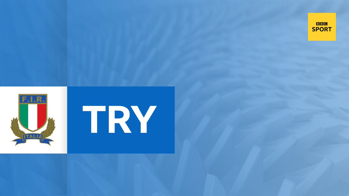 test Twitter Media - TRY! France 5-7 Italy A huge driving maul across the line. The ball isn't grounded but the maul is brought down - it's a penalty try. Watch on @BBCOne 👉 https://t.co/15VAVTJNI9 #SixNations #bbcsixnations #FRAvITA https://t.co/cW9WZlkVc3
