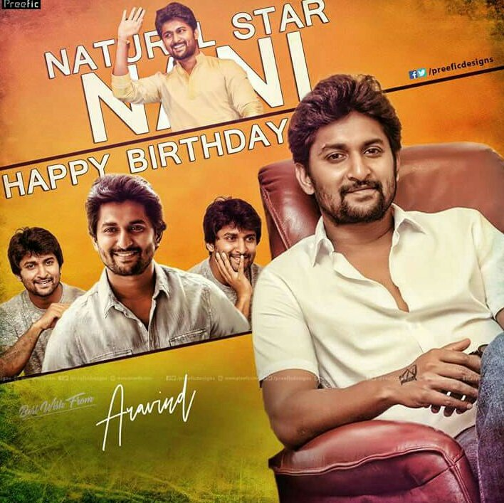 Happy Birthday Nani Common DP :
