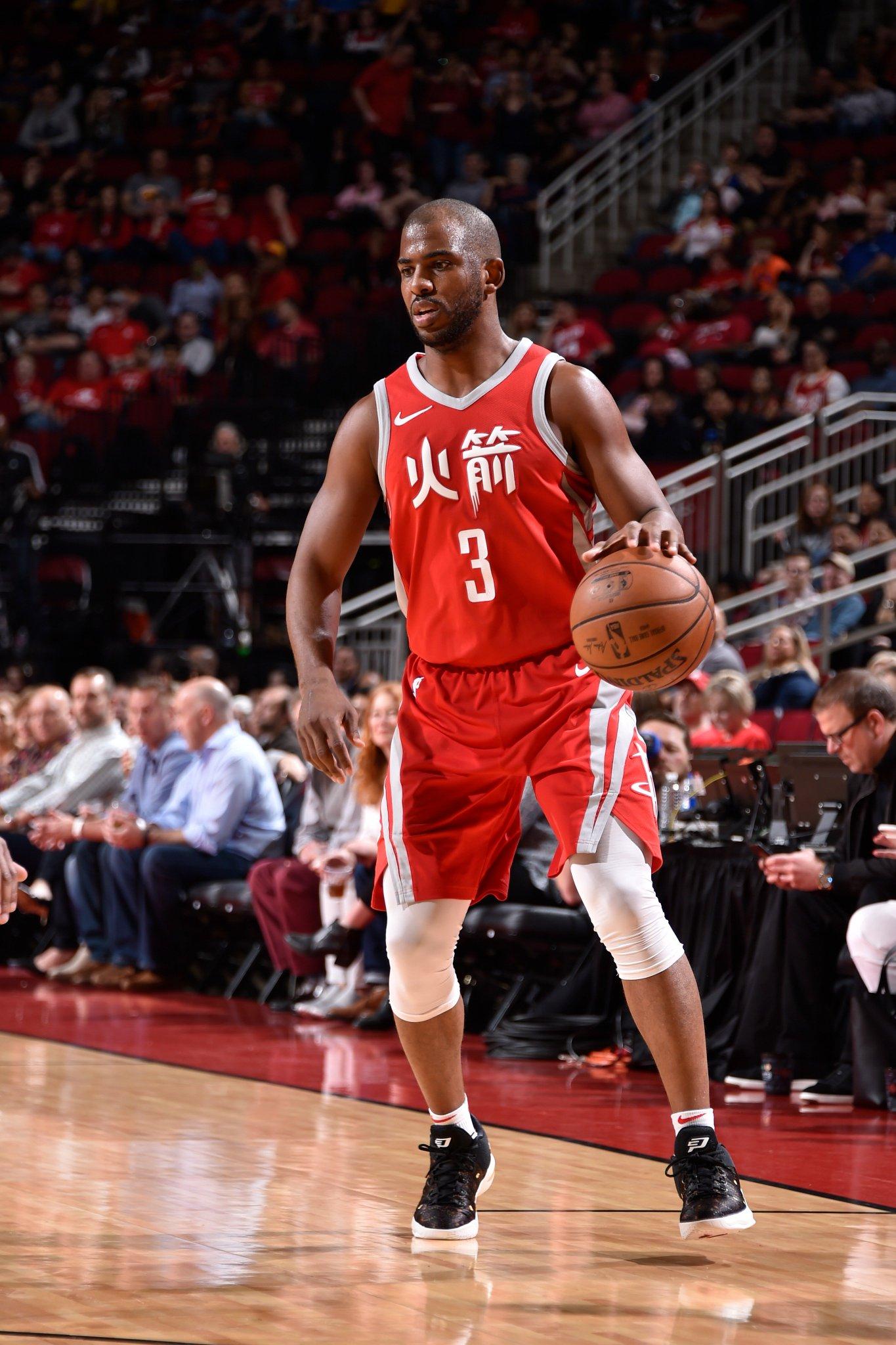 End of 1 ⤵️  #Rockets 26 Timberwolves 32 https://t.co/xn3JkdUVBF