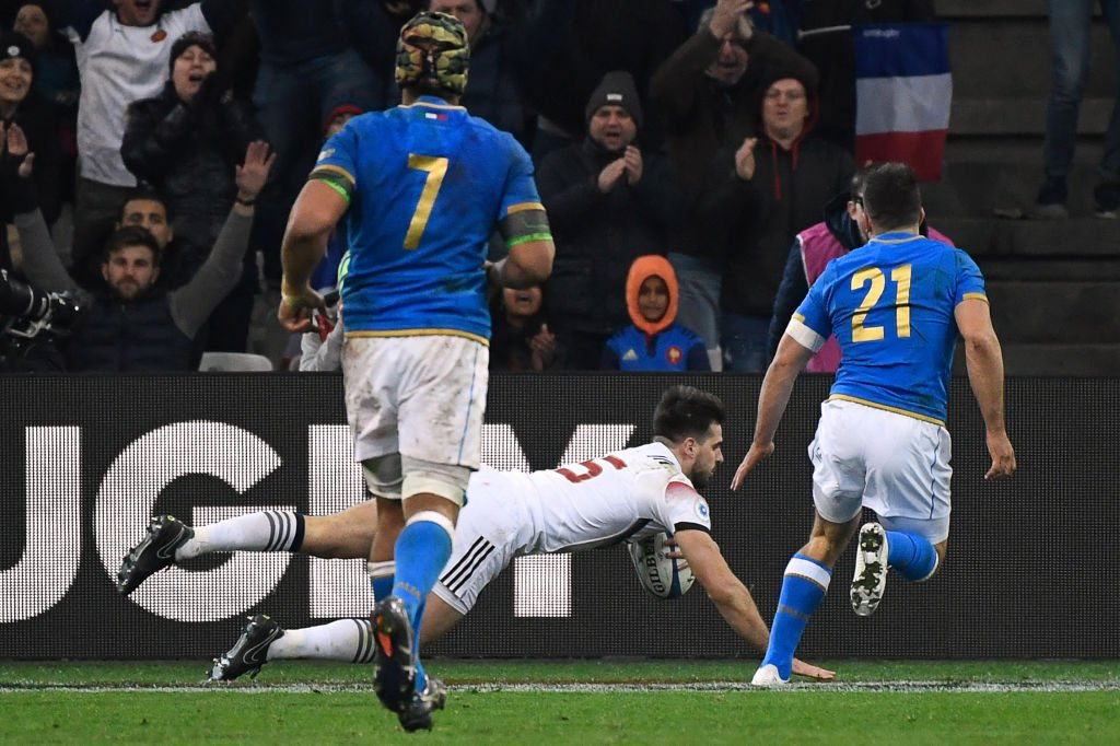 test Twitter Media - FT: France 34-17 Italy It was almost a fourth try for France, but they just miss out on the bonus point. 👉 https://t.co/15VAVTJNI9 #SixNations #bbcsixnations #FRAvITA https://t.co/SXNWtAt8Ci