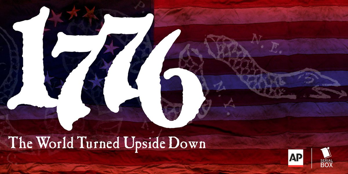 """test Twitter Media - Ad: A patchwork quilt of people: versatile, ingenious and industrious because they had to be. Read or listen to the latest installment of @AP's """"1776: The World Turned Upside Down."""" https://t.co/QkjQvvuihs https://t.co/DjAJh5F8HS"""