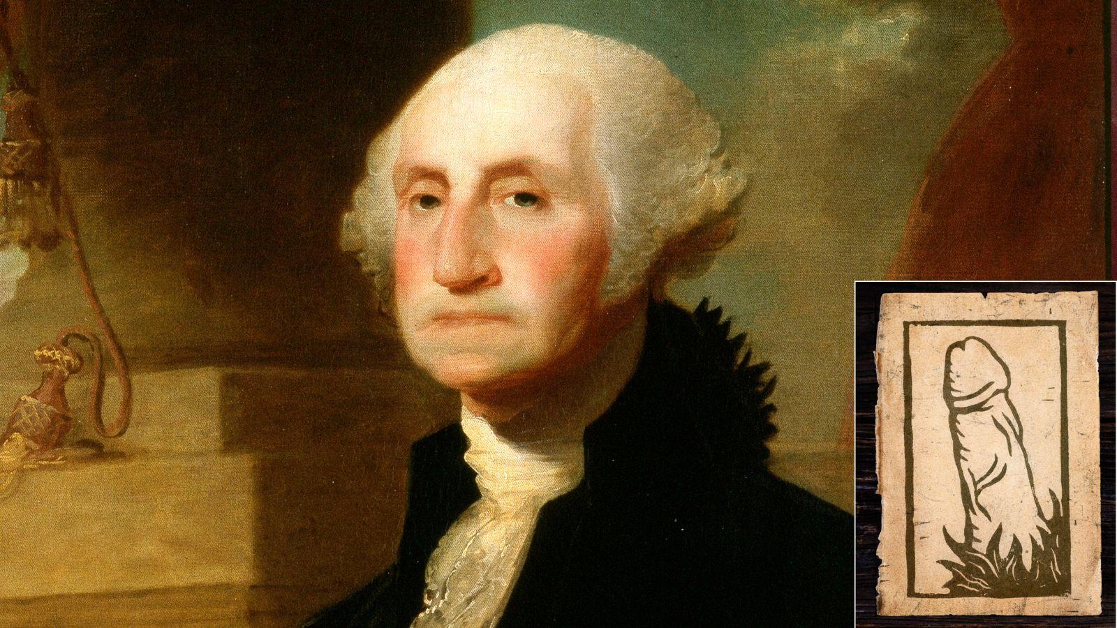 New Evidence Suggests President George Washington Sent Woodcut Of Penis To Secretary https://t.co/jiDP7i4OEO https://t.co/Hci1HesMPG