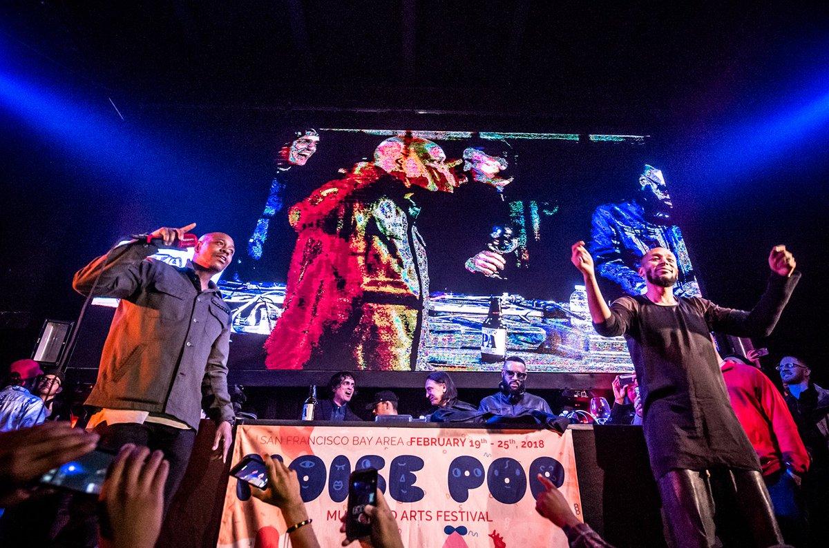 Dave Chappelle and Mos Def crash Madlib concert in San Francisco https://t.co/2eab0g4iHn https://t.co/HEwFoMug55