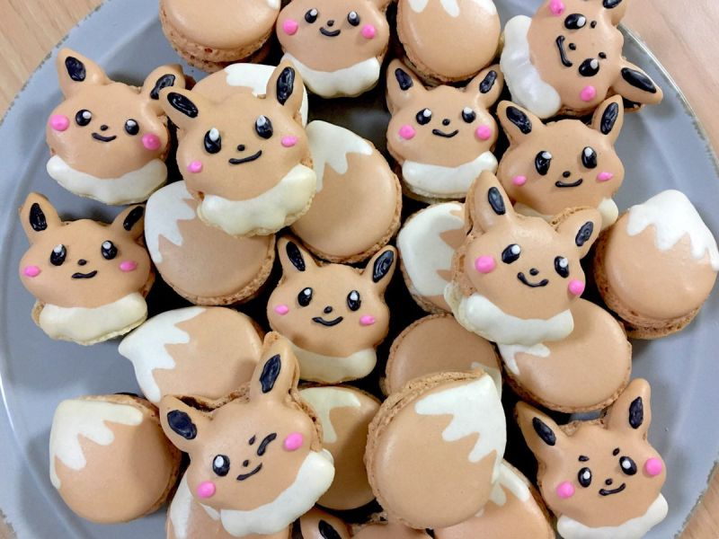 Eevee from Pokémon makes macarons look cute and delicious: https://t.co/ZDPcLUTtvs https://t.co/dOckSfW7xu