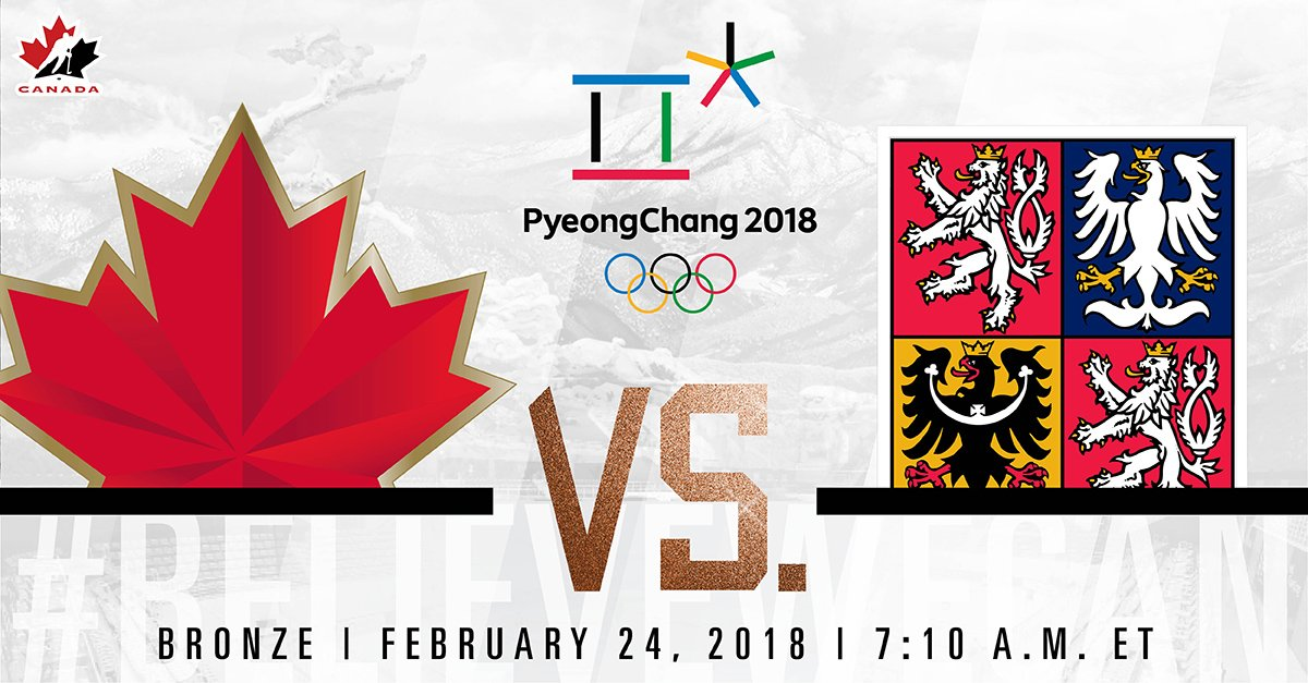 test Twitter Media - Start your Saturday watching @HC_Men compete for Olympic bronze. #BelieveWeCAN🍁 #PyeongChang2018 https://t.co/nPYwvOVPpx