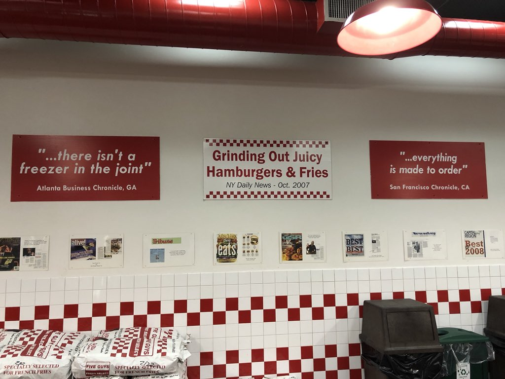 hey five guys you can quit the hard sell, i'm literally already in your restaurant. https://t.co/ENrUGoaWTT