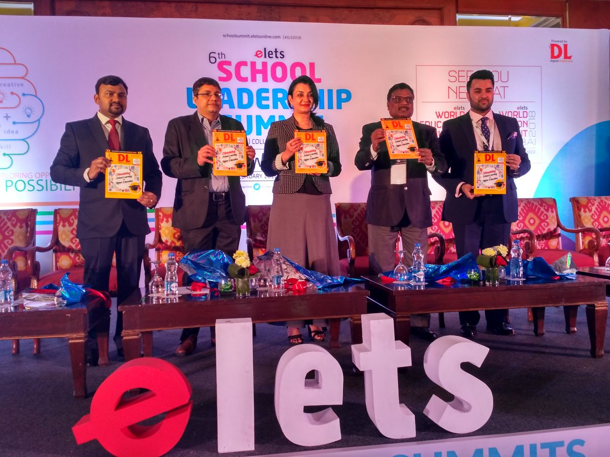 test Twitter Media - Launch of @dl_magazine at #SLS2018  feature emerging technological trends in education, opinion from the eduleaders, ranking of top schools and deemed to be universities & more. https://t.co/TDLlW83kWW #EletsEducation @ravigupta1000 @chandananand26 @Manjula_Pooja @RyanIntlGrp https://t.co/pjZEuweY3y